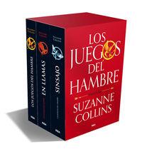 (estuche) trilogia los juegos del hambre - Suzanne Collins