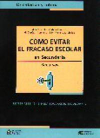 COMO EVITAR EL FRACASO ESCOLAR EN SECUNDARIA - RECURSOS