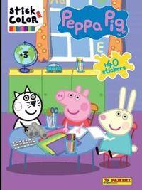 PEPPA PIG - STICK & COLOR