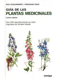 GUIA DE LAS PLANTAS MEDICINALES