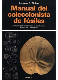 MANUAL DEL COLECCIONISTA DE FOSILES