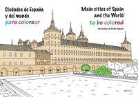 Ciudades De España Y Del Mundo Para Colorear - Cecilia  Alemany (il. )