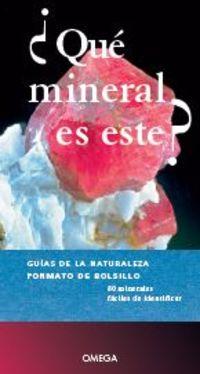 ¿que Mineral Es Este? - Aa. Vv.