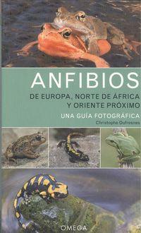 ANFIBIOS DE EUROPA, NORTE DE AFRICA Y ORIENTE PROXIMO - UNA GUIA FOTOGRAFICA
