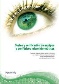 CP - TESTEO Y VERIFICACION DE EQUIPOS Y PERIFERICOS MICROINFORMATICOS