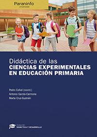DIDACTICA DE LAS CIENCIAS EXPERIMENTALES EN EDUCACION PRIMARIA