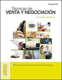 Gs - Tecnicas De Venta Y Negociacion - M. Jose Escudero Serrano