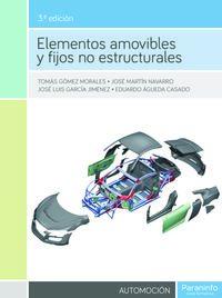 (3 ED) GS - ELEMENTOS AMOVIBLES Y FIJOS NO ESTRUCTURALES