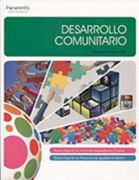 GS - DESARROLLO COMUNITARIO - SERVICIOS SOCIOCULTURALES Y A LA COMUNIDAD