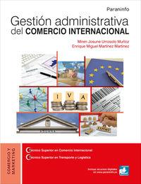 GS - GESTION ADMINISTRATIVA DEL COMERCIO INTERNACIONAL
