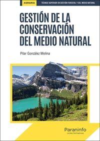 GS - GESTION DE LA CONSERVACION DEL MEDIO NATURAL