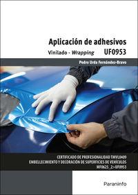 CP - APLICACION DE ADHESIVOS - UF0953