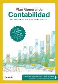 2017 Plan General De Contabilidad - Aa. Vv.