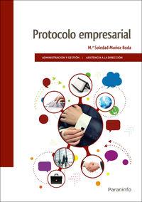 Gs - Protocolo Empresarial - Maria Soledad Muñoz Boda