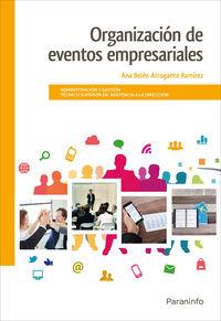 Gs - Organizacion De Eventos Empresariales - Ana Belen Arrogante Ramirez