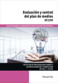 CP - EVALUACION Y CONTROL DEL PLAN DE MEDIOS - UF2399 - GESTION DE MARKETING Y COMUNICACION