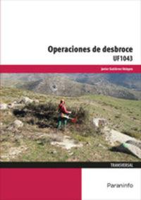 CP - OPERACIONES DE DESBROCE - UF1043 - TRANSVERSAL