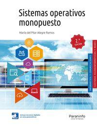 (2 Ed) Gm - Sistemas Operativos Monopuesto - Maria Del Pilar Alegre Ramos