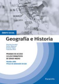 ACCESO GM - GEOGRAFIA E HISTORIA - AMBITO SOCIAL