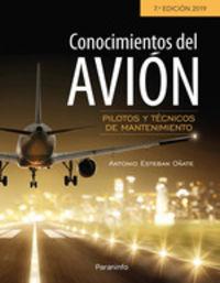 (7 Ed) Conocimientos Del Avion 7 - Antonio Esteban Oñate