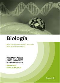 ACCESO GS - BIOLOGIA