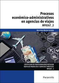 CP - PROCESOS ECONOMICO-ADMINISTRATIVOS EN AGENCIAS DE VIAJES