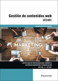 CP - GESTION DE CONTENIDOS WEB UF2401