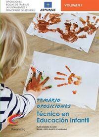 TEMARIO 1 - TECNICOS DE EDUCACION INFANTIL (ASTURIAS) - AYUNTAMIENTOS Y PRINCIPADO DE ASTURIAS