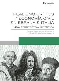 REALISMO CRITICO Y ECONOMIA CIVIL EN ESPAÑA E ITALIA - UNA PERSPECTIVA HISTORICA