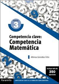 CP - COMPETENCIA CLAVE - COMPETENCIA MATEMATICA NIVEL 3