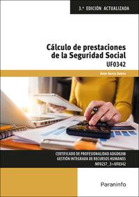 (3 ED) CP - CALCULO DE PRESTACIONES DE LA SEGURIDAD SOCIAL