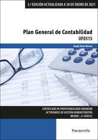 CP - PLAN GENERAL DE CONTABILIDAD (UF0515)