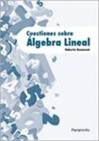 CUESTIONES SOBRE ALGEBRA LINEAL