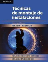GM - TECNICAS DE MONTAJE DE INSTALACIONES