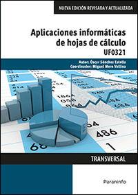 Cp - Aplicaciones Informaticas De Hojas De Calculo - Uf0321 - Administracion Y Gestion - Oscar Sanchez Estella