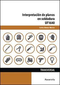 CP - INTERPRETACION DE PLANOS EN SOLDADURA - UF1640