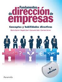 FUNDAMENTOS DE DIRECCION DE EMPRESAS - CONCEPTOS Y HABILIDADES DIRECTIVAS