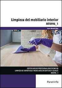 CP - LIMPIEZA DEL MOBILIARIO INTERIOR - MF0996_1 - SERVICIOS SOCIALES Y A LA COMUNIDAD