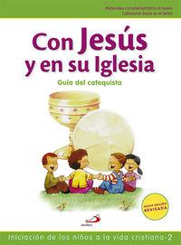 Con Jesus En Su Iglesia - Guia Del Catequista - Vicente Miguelez Miguelez
