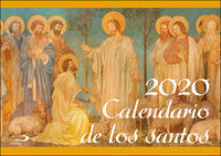 CALENDARIO 2020 - DE LOS SANTOS (PARED)