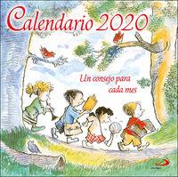 Calendario 2020 - Un Consejo Para Cada Mes (pared) - Aa. Vv.