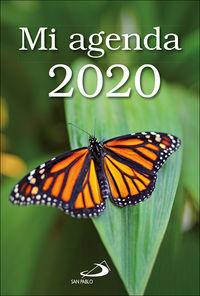 AGENDA 2020 - MI AGENDA (FUNDA TRANSPARENTE)