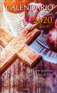 CALENDARIO 2020 - BIBLICO-LITURGICO. CICLO A