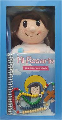 MI ROSARIO PARA REZAR CON MARIA (+ROSARIO+MUÑECA)