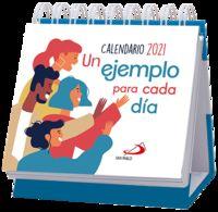 CALENDARIO DE MESA 2021 - UN EJEMPLO PARA CADA DIA