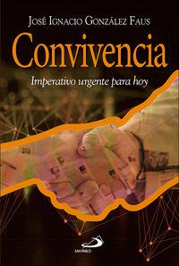 CONVIVENCIA - IMPERATIVO URGENTE PARA HOY
