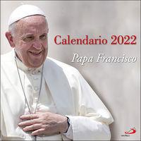 CALENDARIO PARED 2022 - PAPA FRANCISCO 2022