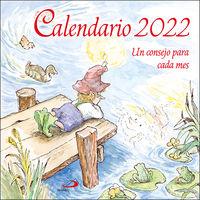 CALENDARIO PARED 2022 - UN CONSEJO PARA CADA MES