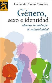 GENERO, SEXO E IDENTIDAD - MENORES TRANSIDOS POR LA VULNERABILIDAD