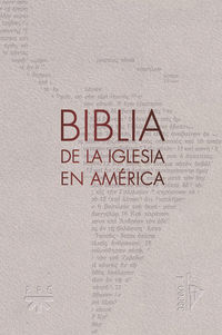 BIBLIA DE LA IGLESIA EN AMERICA (SEMIFLEXIBLE)